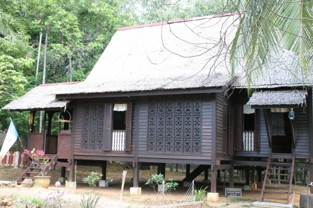 Traditionele Malay House