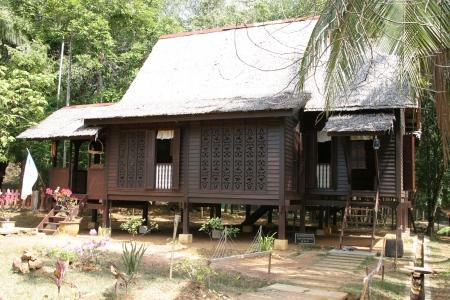 malay village: Village Hut