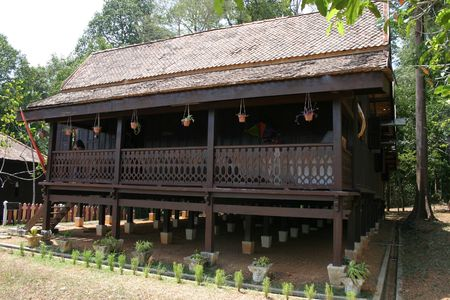 Malay Wooden House