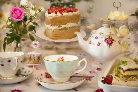 Een elegante high tea