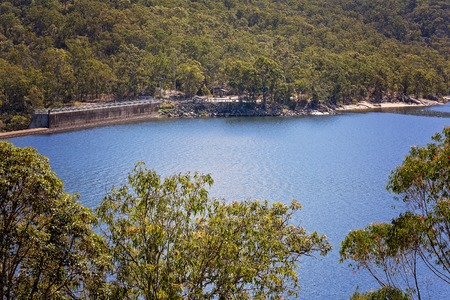 Lake Tinaroo In Australia provides water for the surrounding population Фото со стока