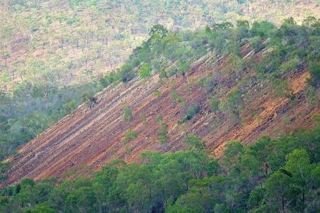 Ringiovanimento del sovraccarico della miniera d'oro di Mt Morgan chiusa