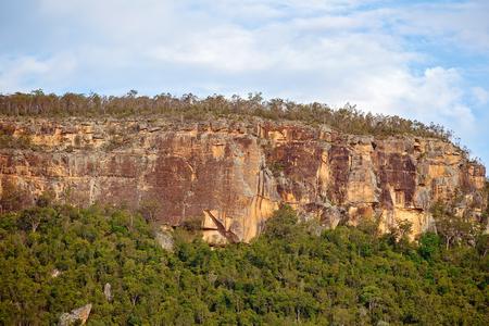 Sandstone Cliffs Cania Gorge Queensland Australia