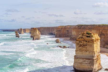 The Twelve Apostles on The Great Ocean Road Australia - Famous landmark