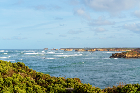 The Bay Of Martyrs on Australia's well known coastline The Great Ocean Road