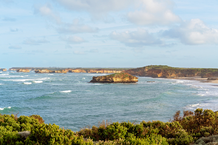 The Bay Of Martyrs on the Great Ocean Road, Victoria, Australia - famous landmark