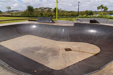 Capricorn Coast Australia - A skate park for recreational skateboarding built as an activity for young people to enjoy