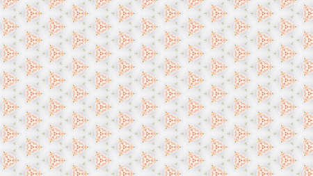 Soft cream tones in wallpaper pattern on white background