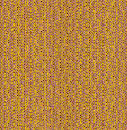A colorful pattern in yellow orange and beige tones - suitable for a wallpaper 免版税图像
