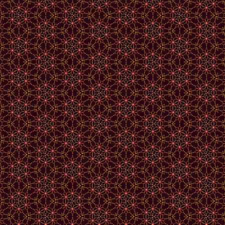 A colorful pattern in orange and pink tones, useful as wallpaper
