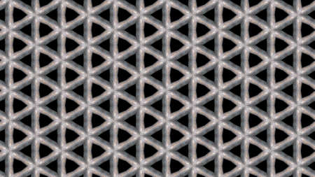 A geometric pattern in triangle shapes on a black background - useful as a wallpaper 免版税图像