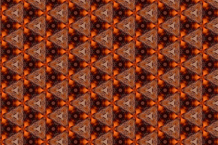 A colorful pattern in orange and brown tones - suitable as a wallpaper