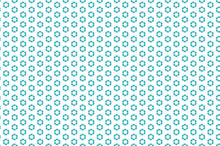 Blue circular repeating patterns on a white background - suitable as a wallpaper 免版税图像