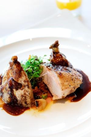 bbq chicken: chicken steak grill