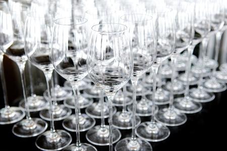Wine glass set photo
