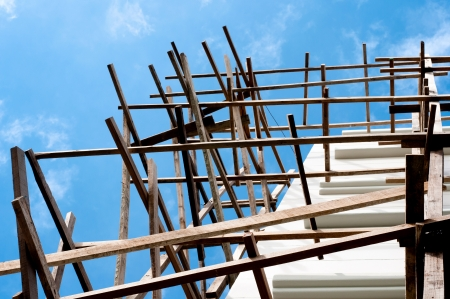 structure home, residential construction Stock Photo - 13886567