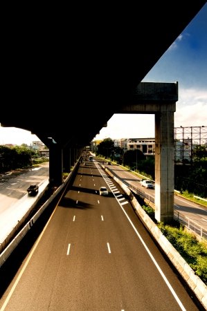 express way in bangkok thailand Stock Photo - 13912070