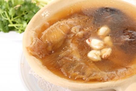 maw: fish maw soup, chinese food