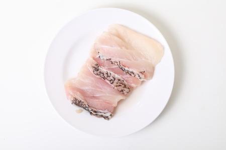 greenfish: fish on dish Stock Photo