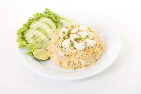 Thai crab fried rice, thai food