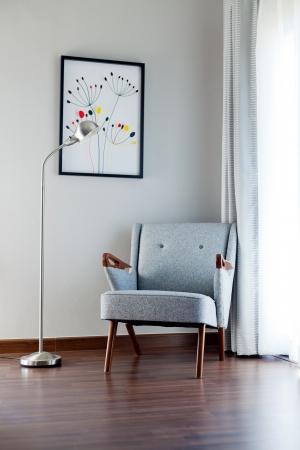 living chair Standard-Bild