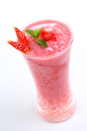Fresh Strawberry smoothie photo