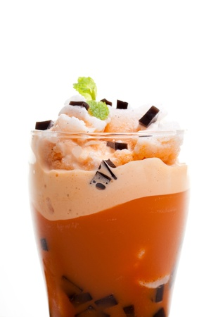 iced blended coffee photo