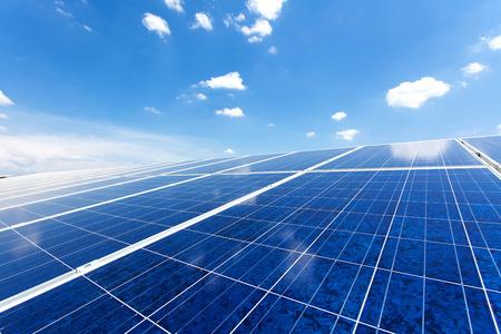 Solar Panel Standard-Bild