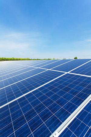 Solar power for electric renewable energy from the sun, solar farm