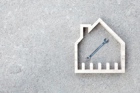 House construction renovate, Home improvement concept