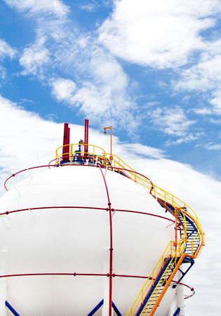 storage tank: Gas Propane-butane tank, Storage Tank