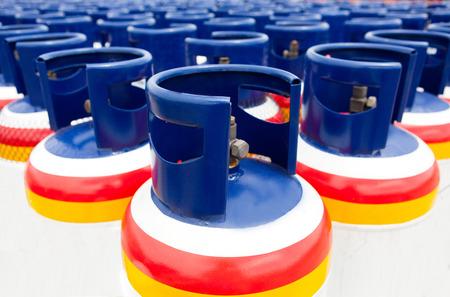 Many of the Gas tanks, Propane-butane