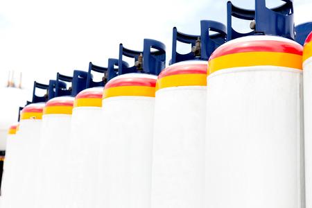 Many of the Gas tanks, Propane-butane photo