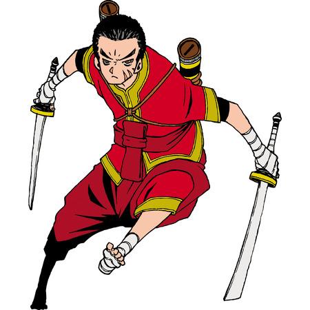 Thailand character set 1 swordman