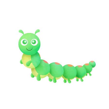 caterpillar cartoon: Cartoon Caterpillar