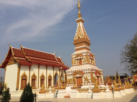 Buddha Temple of Tuesday in Thailand Stock Photo
