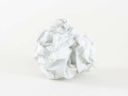 crumple: paper crumple