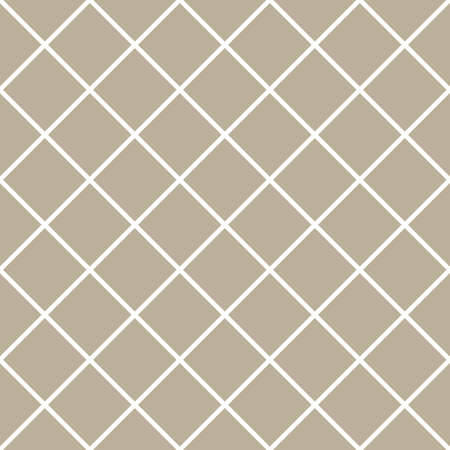 Classic Checker Geometric Vector Repeated Seamless Pattern, in Neutral Beige / Taupe. Perfect for Weddings, Fabric / Textiles, Decor, Scrapbooking, Wallpaper and Backgrounds Illustration