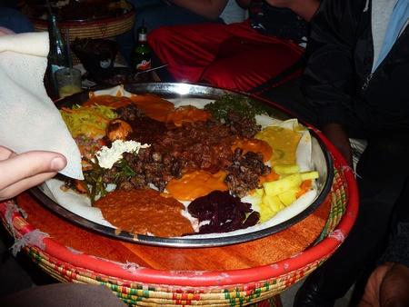 ethiopian: Ethiopian Food