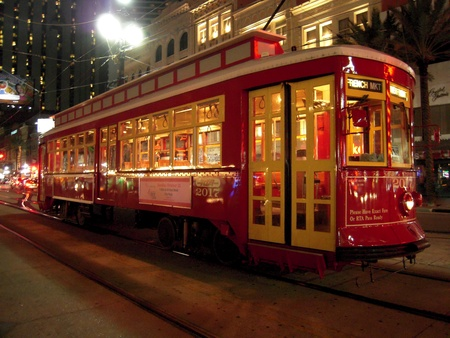 new orleans: New Orleans Trolley