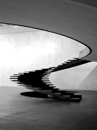 Oscar Niemeyer Stairs