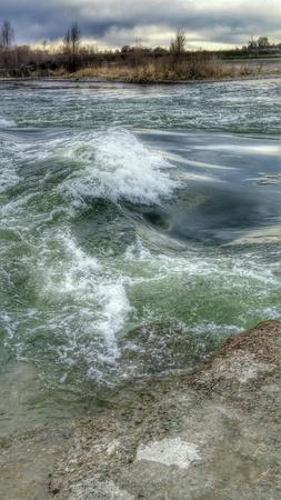 Snake River. Shelley, Idaho Фото со стока