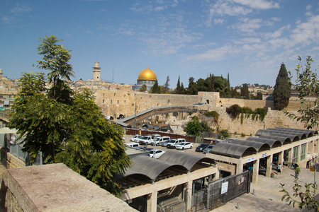 succos: Western Wall and Temple Mount