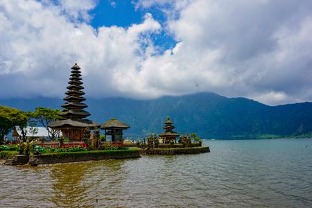 Bedugul Pura Ulun Danu Bratan, or Pura Beratan Temple, Pura Ulun Danu Bratan is a major Shivaite and water temple on Bali island, Indonesia. Stock fotó
