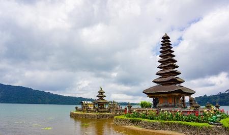 Bedugul Pura Ulun Danu Bratan, or Pura Beratan Temple, Pura Ulun Danu Bratan is a major Shivaite and water temple on Bali island, Indonesia.