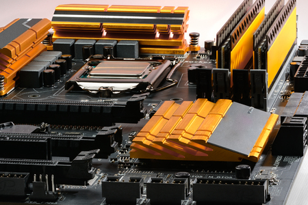 harddisc: Overall focused Equipped with a PC motherboard and processor and memory, power cascade and coolers