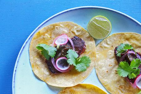 Meat tacos Reklamní fotografie