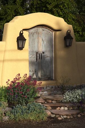 Decorative Gateway Near Canyon Road, Santa Fe, New Mexico
