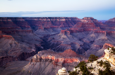 Post Sunset of the Grand Canyon.  Sunset was at 7:30 PM and this photo was taken at almost 9 PM.