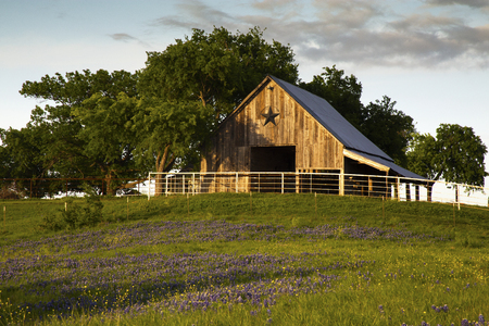 Bluebonnet Trail Barn Near Ennis, Texas